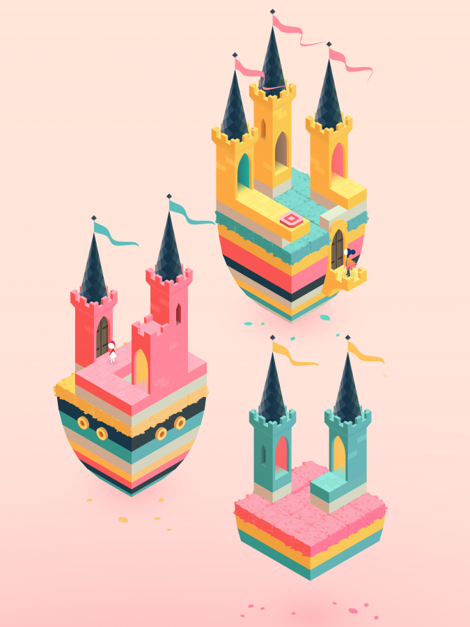 Inside a Monument Valley II level. Dan Gray, Head of Studio at ustwo