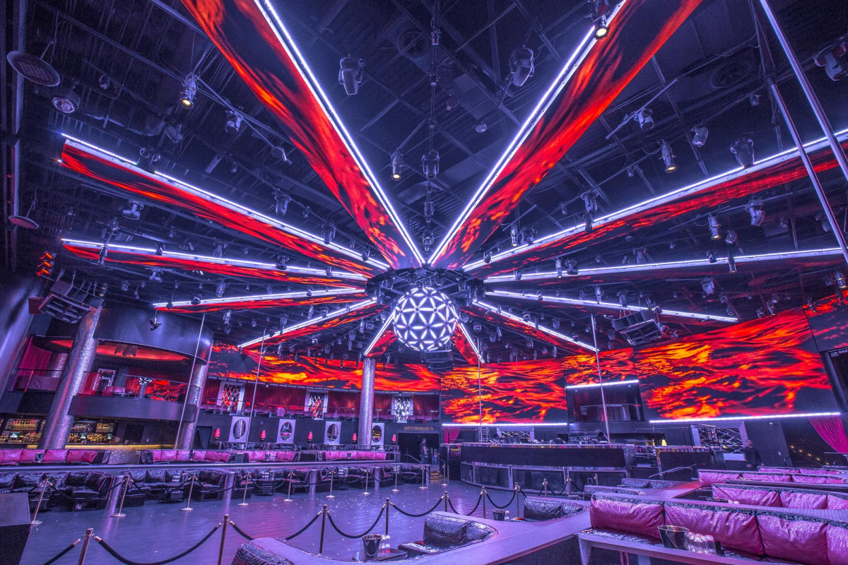 Drais Las Vegas lighting design