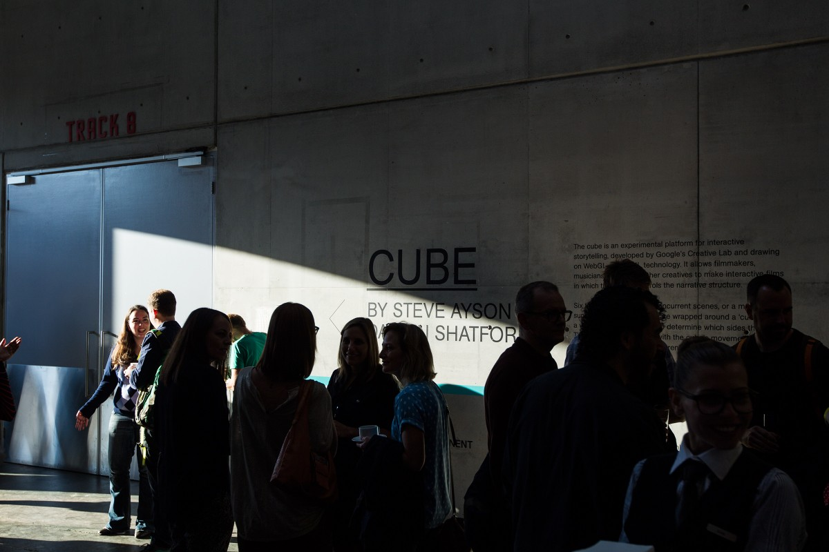 The Cube, a collaboration with Google Creative Labs, Semi Permanent, Steve Ayson and Damian Shatford