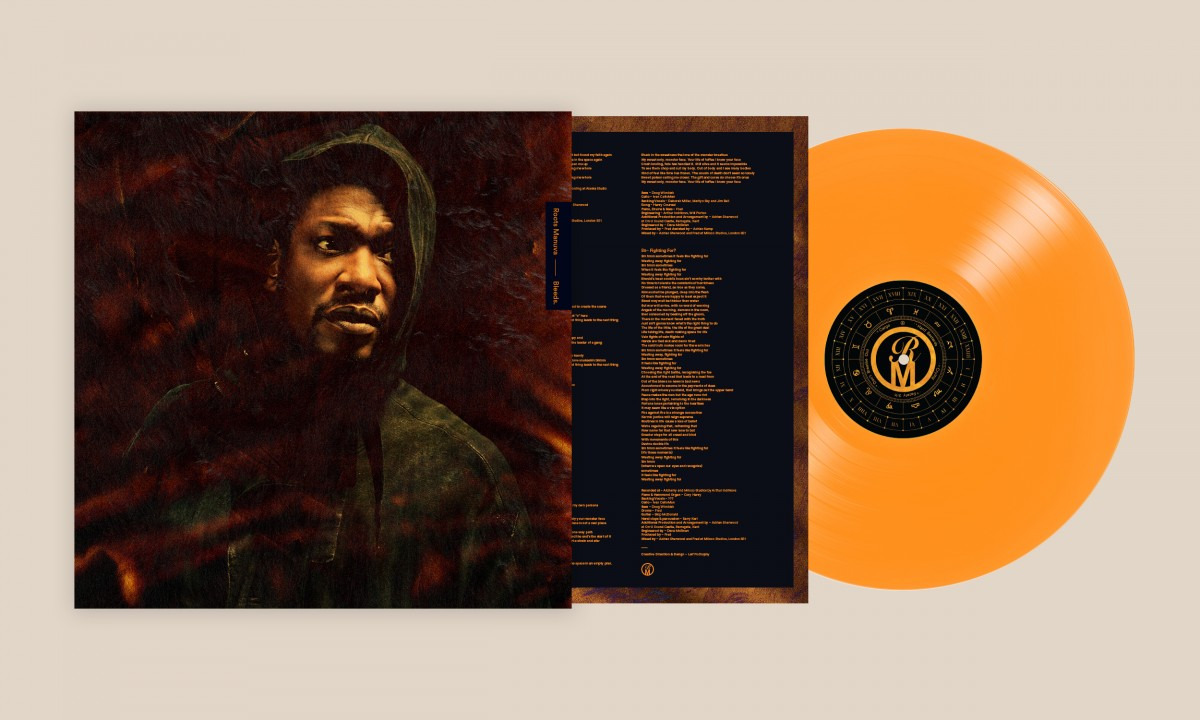 Roots Manuva, Vinyl design for Bleeds