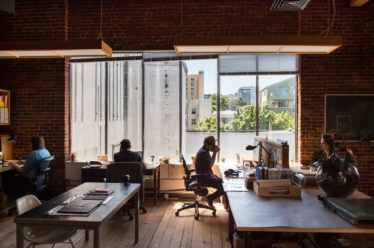 The Atelier Ace PDX office