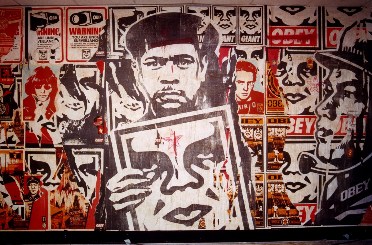 Banksy and Shepard Fairey