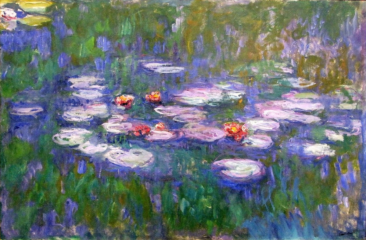 Claude Monet's 'Waterlilies'