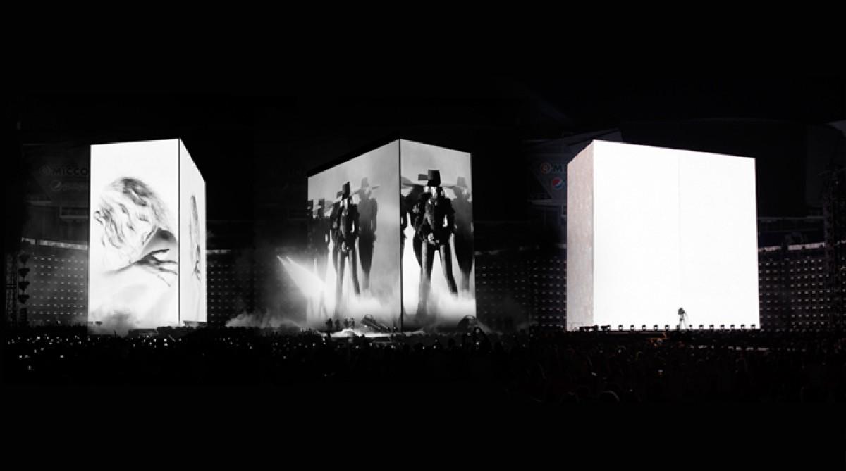 Beyoncé tour set design by Es Devlin