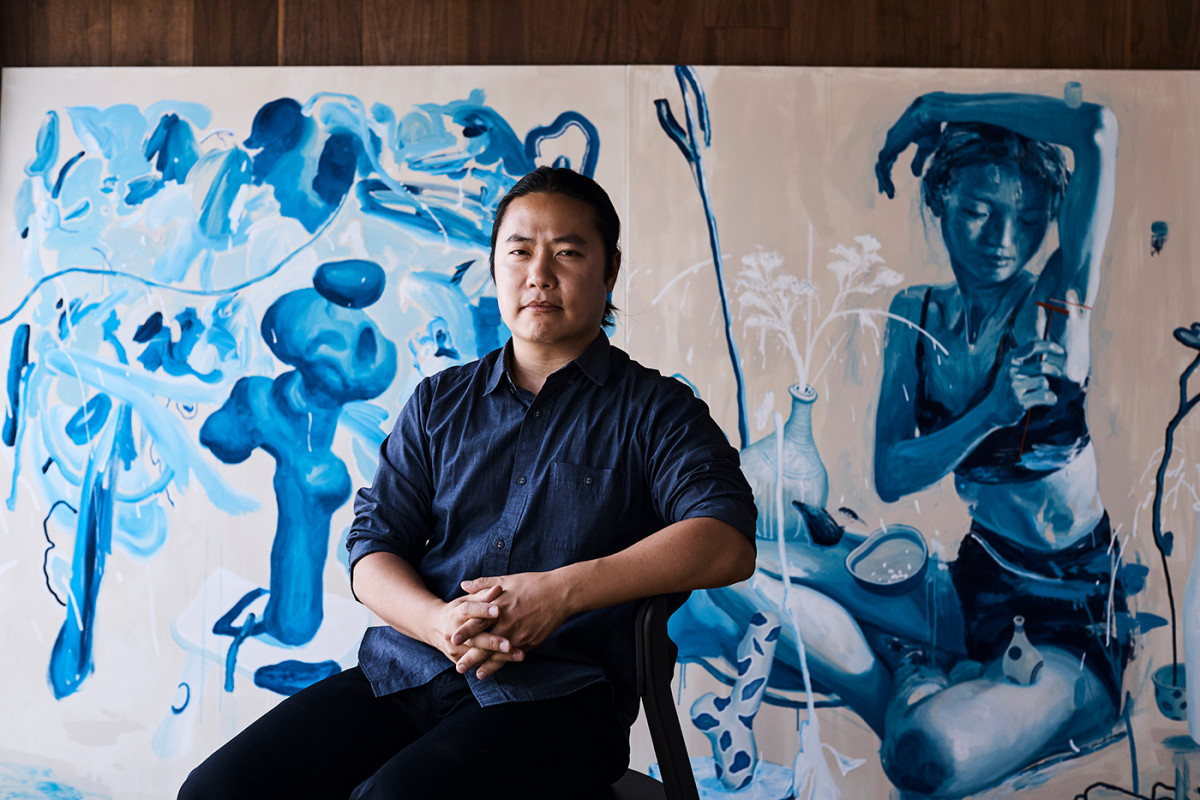 James Jean in Los Angeles