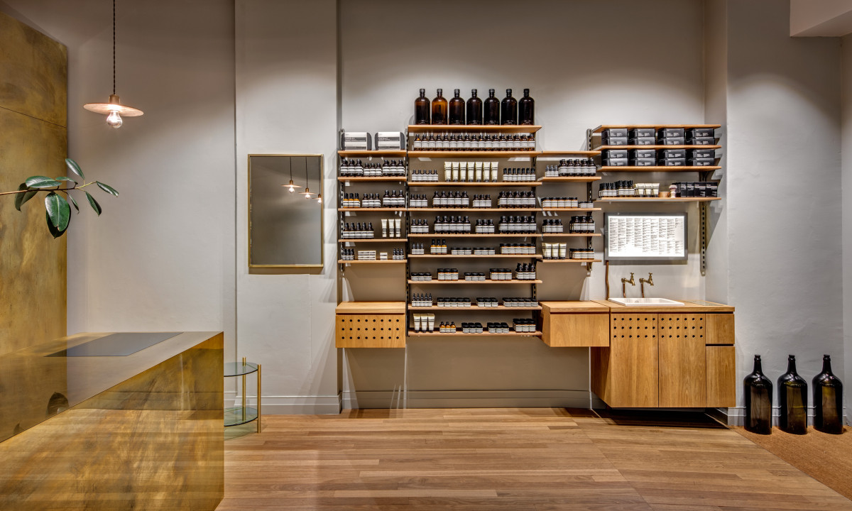 Aesop store Crows Nest by Henry Wilson