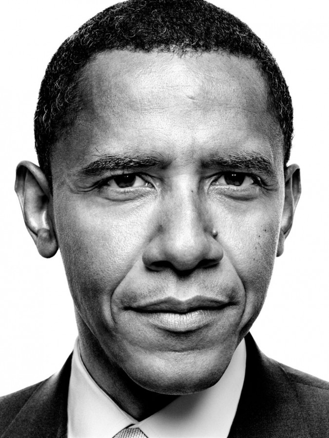Barak Obama and Vladimir Putin, by Platon