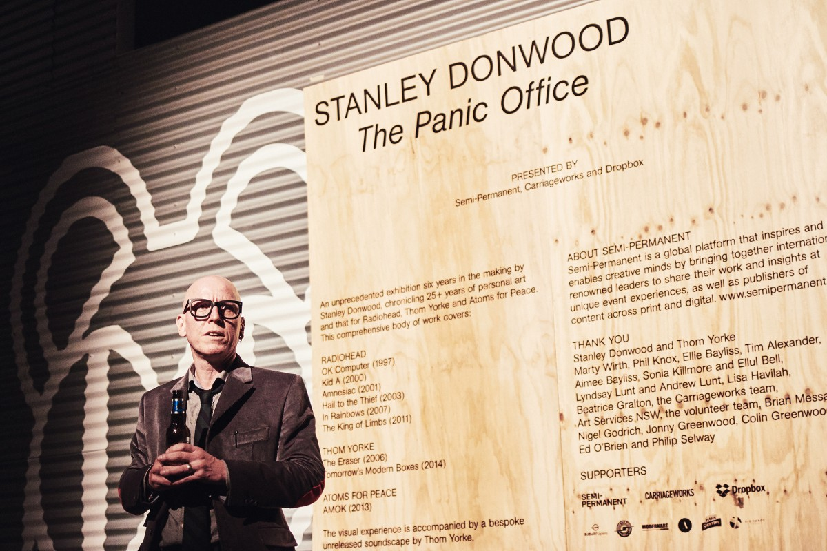 The Panic Office - A retrospective of Stanley Donwood
