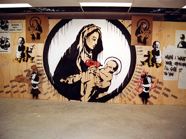 Banksy, Shepard Fairey, 123Klan, Perks and Mini, Dmote and Burn Crew