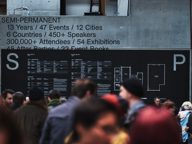 Semi Permanent Sydney 2015 at Carriageworks